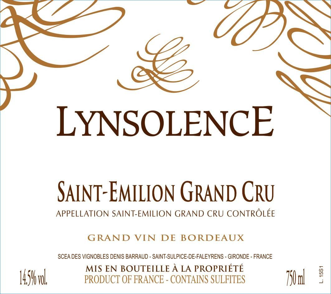 Lynsolence (Futures Pre-Sale) 2018 Front Label