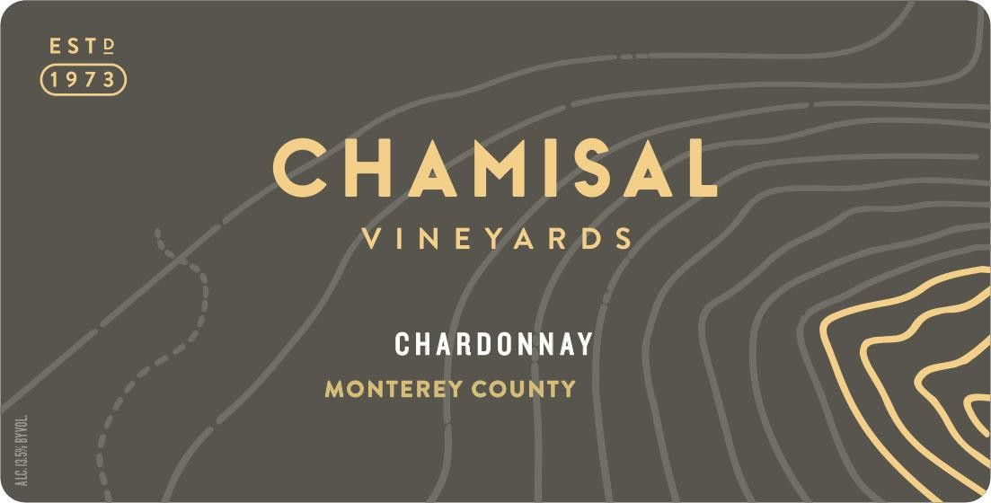 Chamisal Vineyards Monterey Chardonnay 2017 Front Label