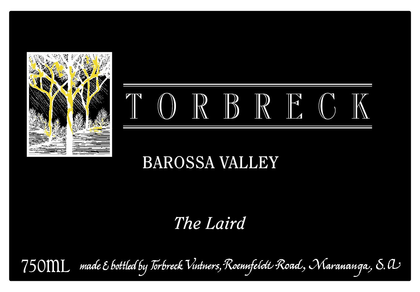 Torbreck The Laird 2013  Front Label