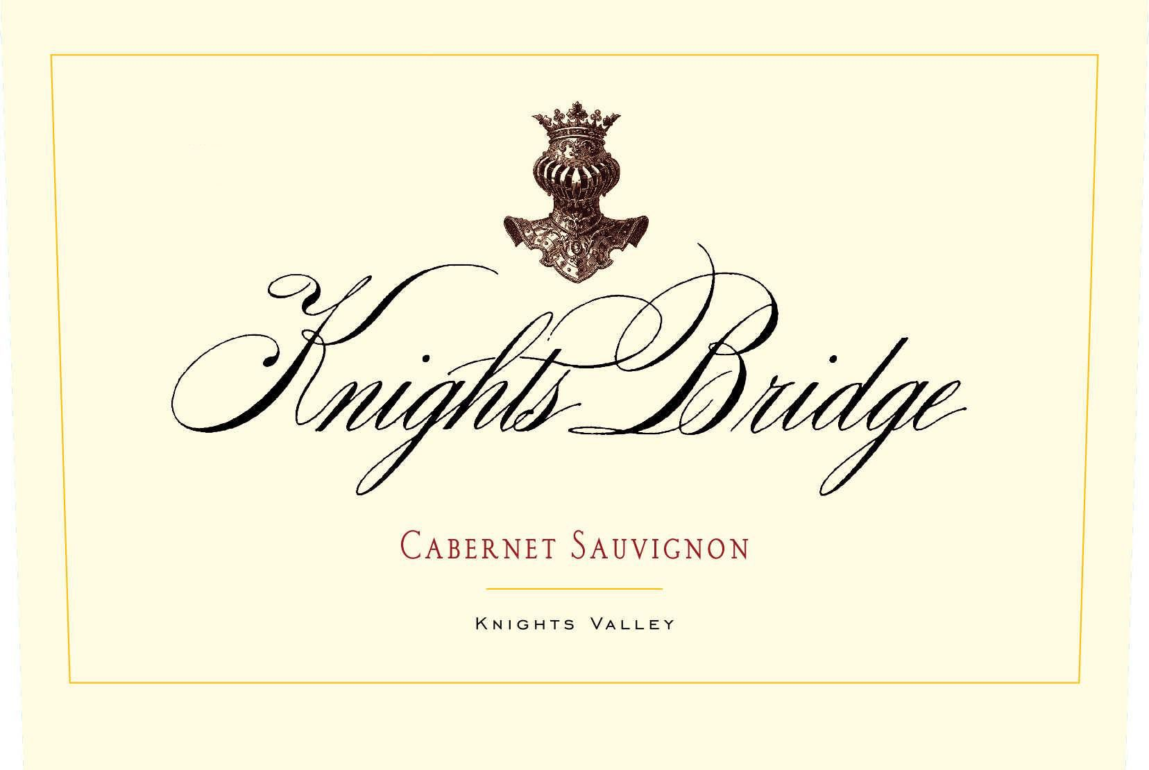 Knights Bridge Knights Valley Cabernet Sauvignon 2016  Front Label