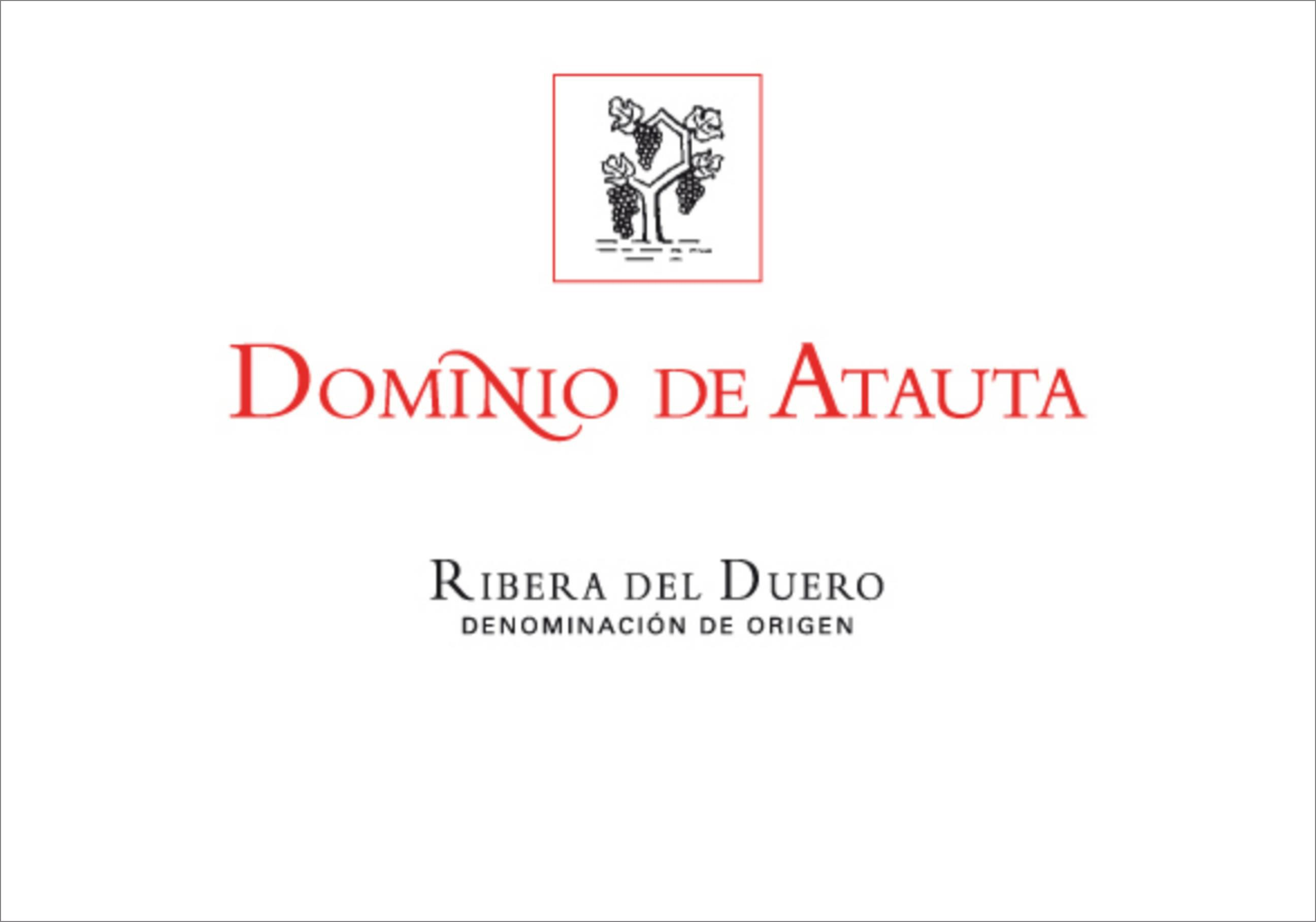 Dominio de Atauta  2016  Front Label