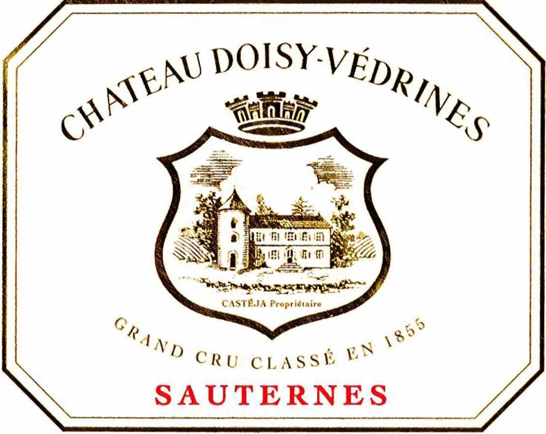 Chateau Doisy Vedrines Sauternes (375ML Futures Pre-Sale) 2019  Front Label