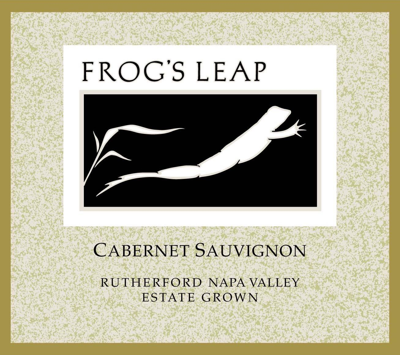 Frog's Leap Estate Grown Cabernet Sauvignon (1.5 Liter Magnum) 2016 Front Label