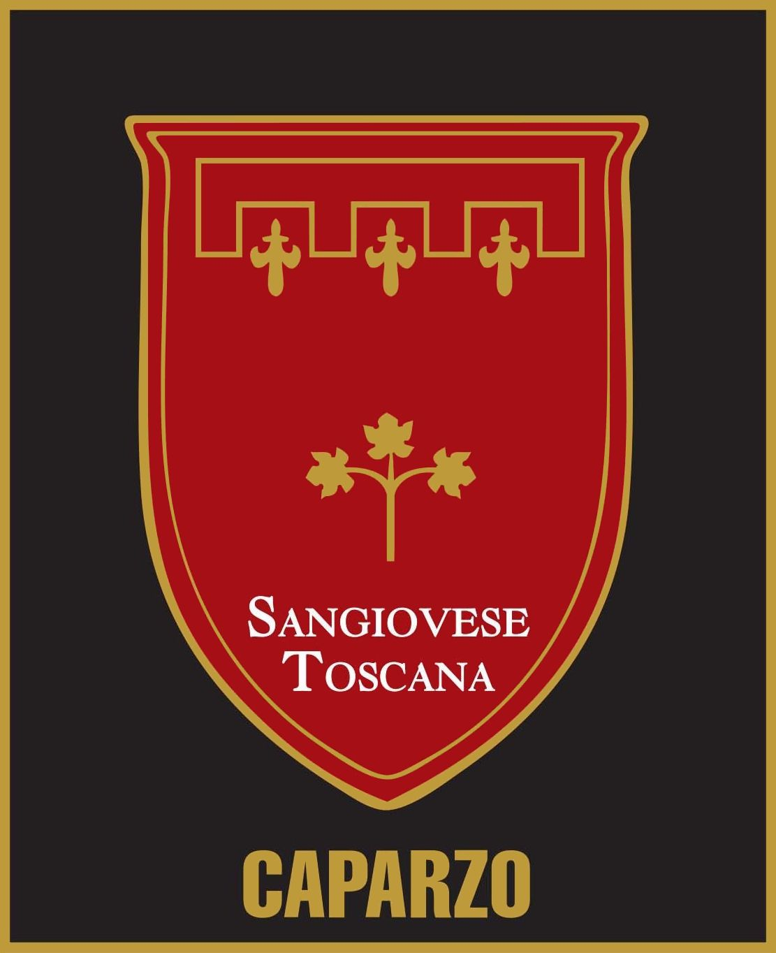 Caparzo Sangiovese 2018 Front Label