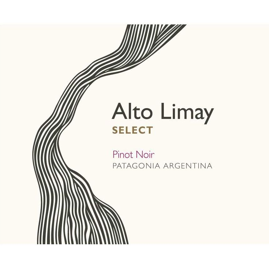 Alto Limay Select Pinot Noir 2017  Front Label