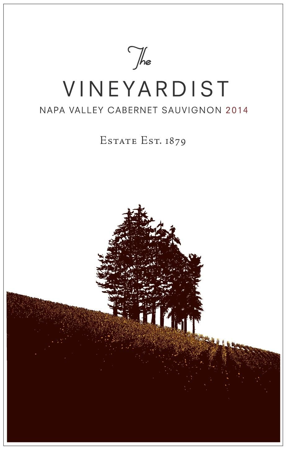 The Vineyardist Cabernet Sauvignon 2014  Front Label