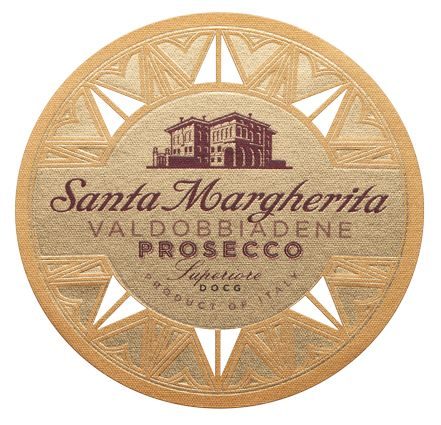 Santa Margherita Prosecco Superiore (375ML half-bottle)  Front Label