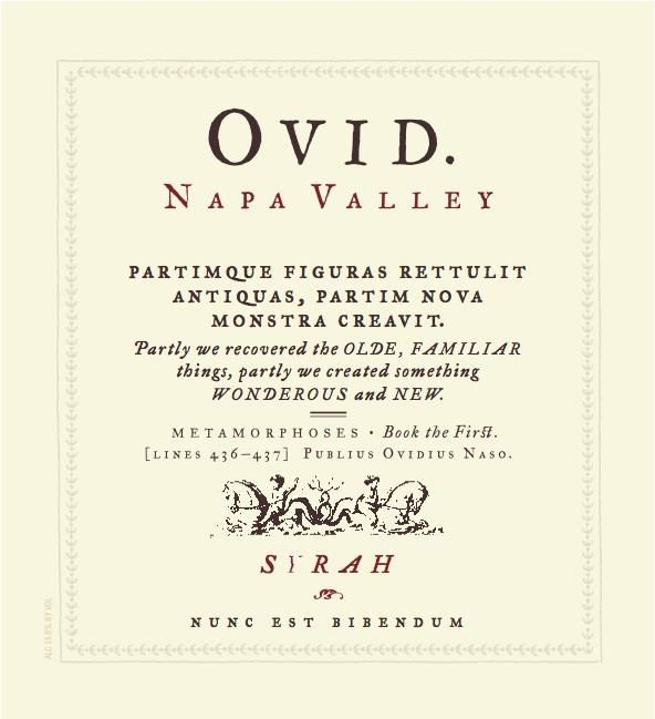 OVID  2013  Front Label