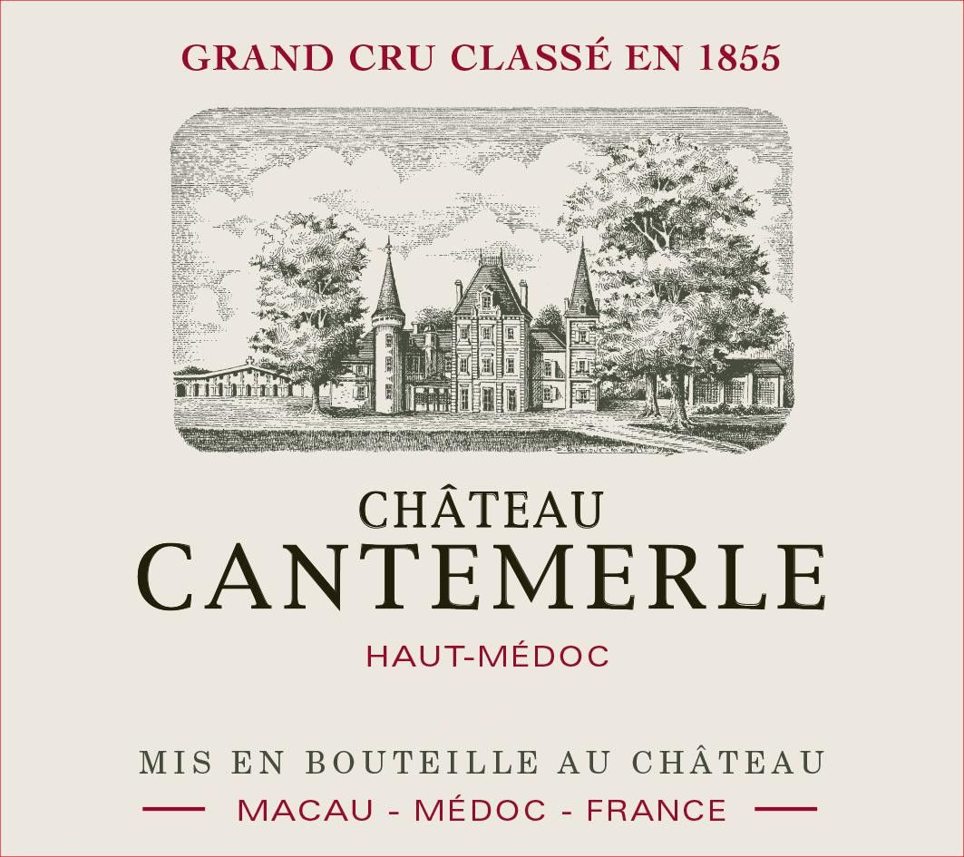 Chateau Cantemerle (Futures Pre-Sale) 2018  Front Label