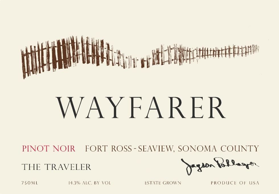 Wayfarer The Traveler Pinot Noir 2016  Front Label