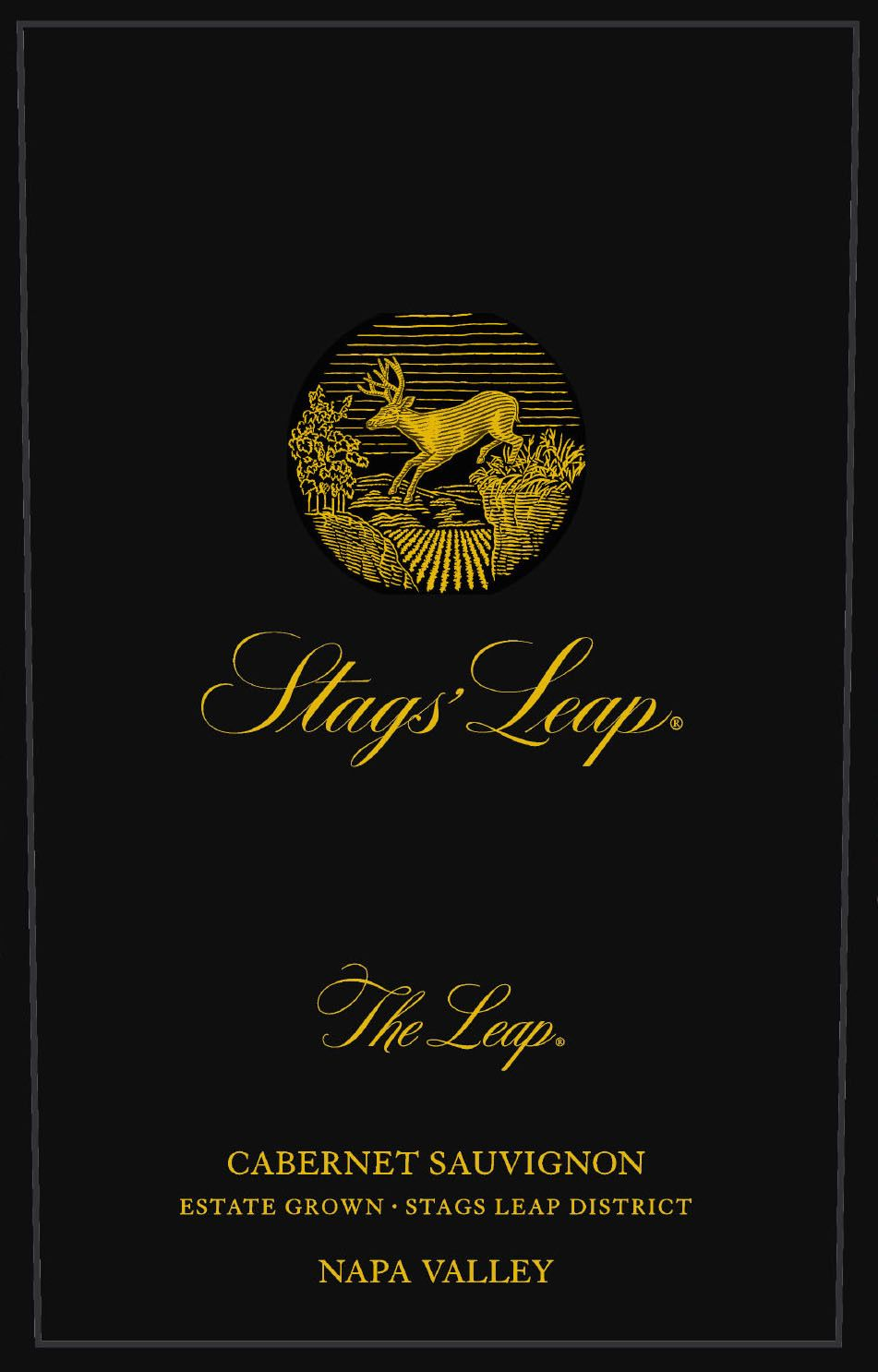 Stags' Leap Winery The Leap Estate Grown Cabernet Sauvignon 2016  Front Label