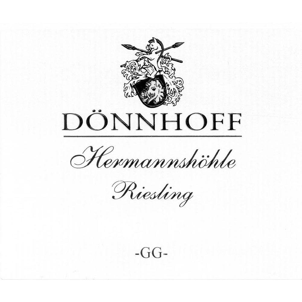 Donnhoff Hermannshohle Riesling Grosses Gewachs 2014  Front Label