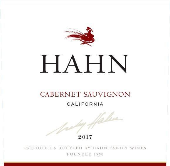 Hahn Cabernet Sauvignon (375ML half-bottle) 2017 Front Label
