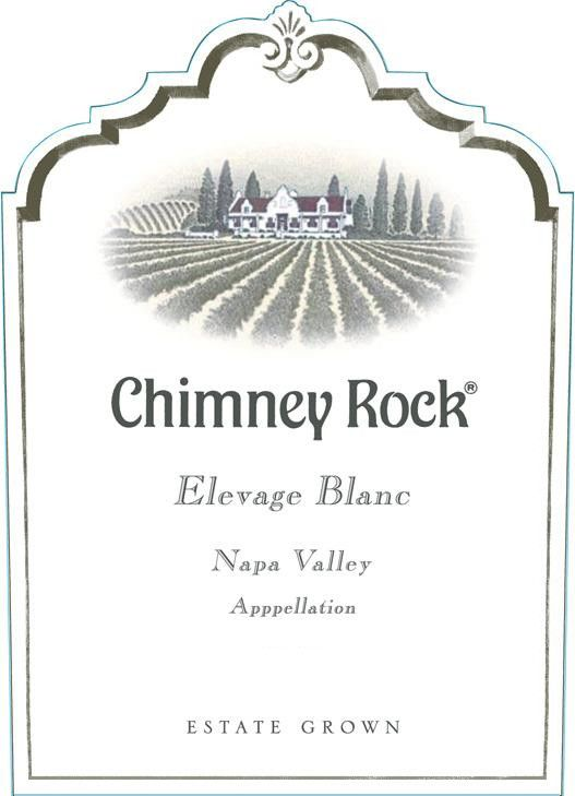 Chimney Rock Elevage Blanc 2010  Front Label