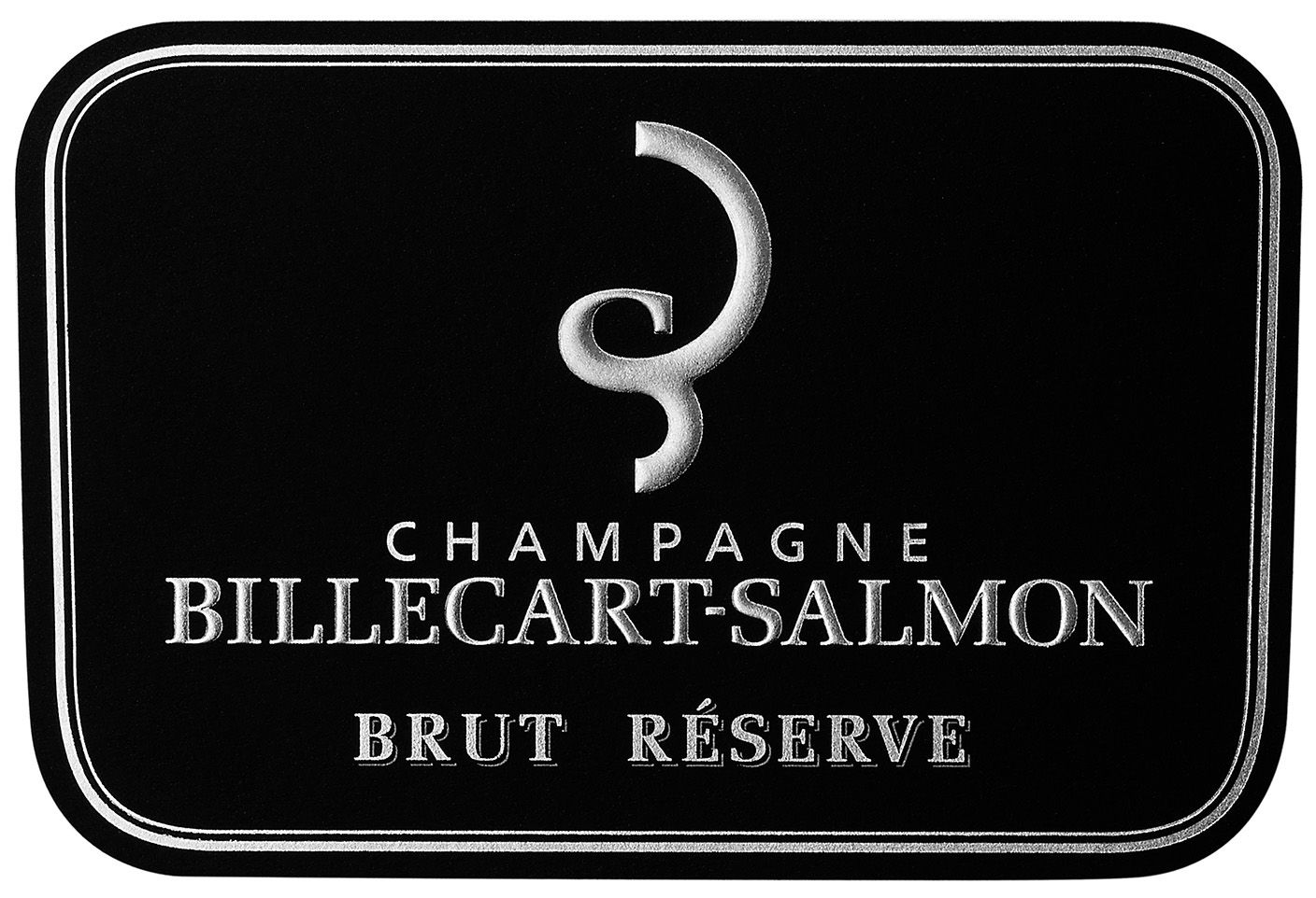 Billecart-Salmon Brut Reserve (375ML half-bottle)  Front Label
