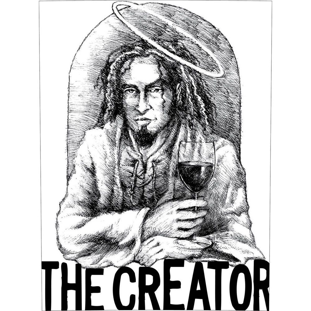 K Vintners The Creator 2016  Front Label