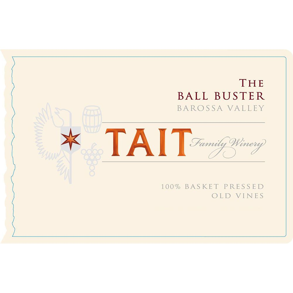 Tait The Ball Buster 2016  Front Label