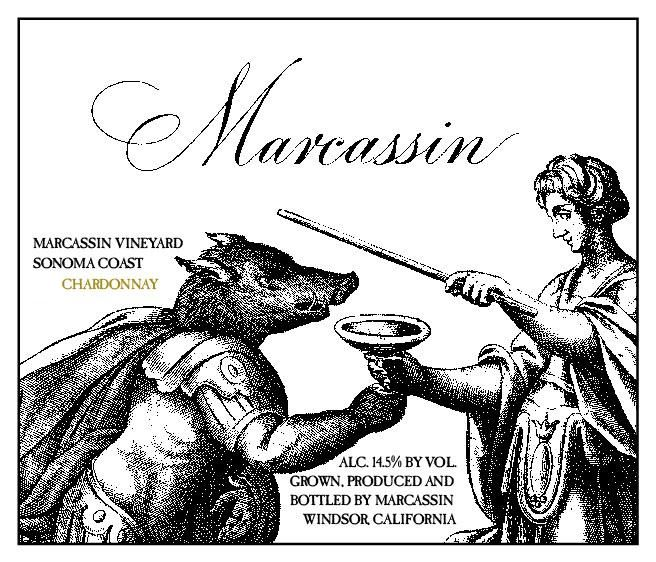 Marcassin Marcassin Vineyard Chardonnay 2005  Front Label