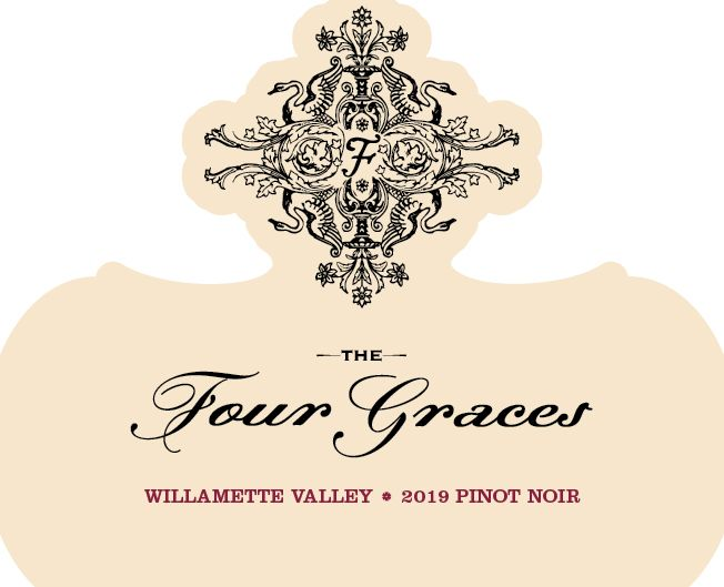Four Graces Pinot Noir 2019  Front Label