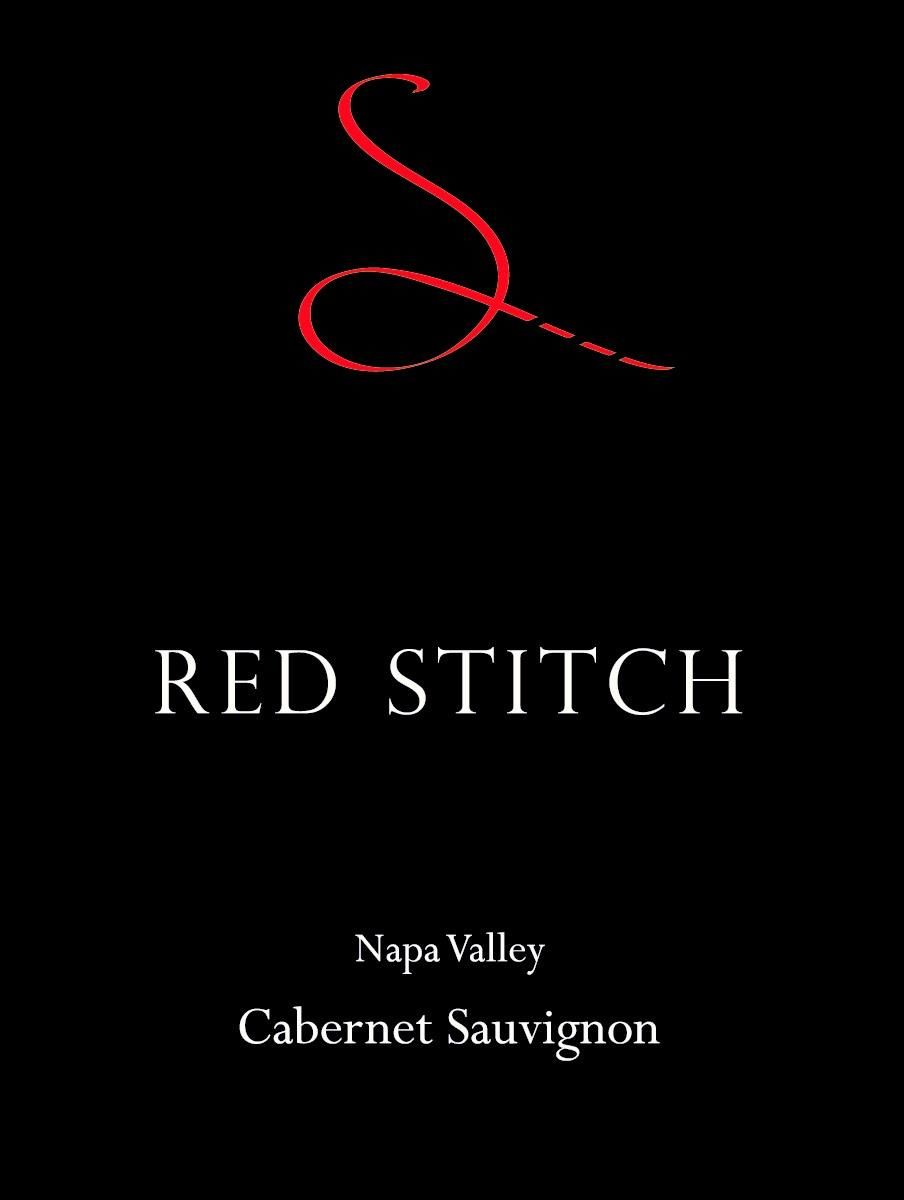 Red Stitch Wine Cabernet Sauvignon 2012  Front Label