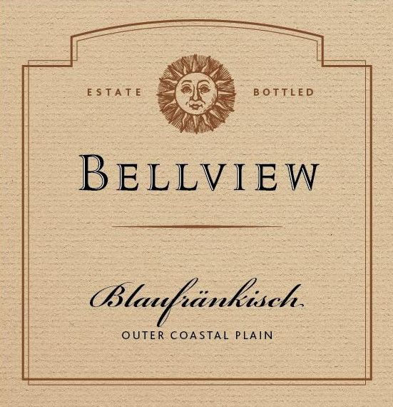 Bellview Winery Blaufrankisch 2013  Front Label