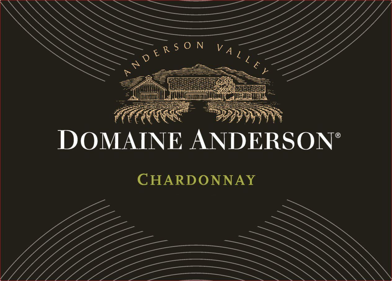 Domaine Anderson Estate Chardonnay 2015 Front Label