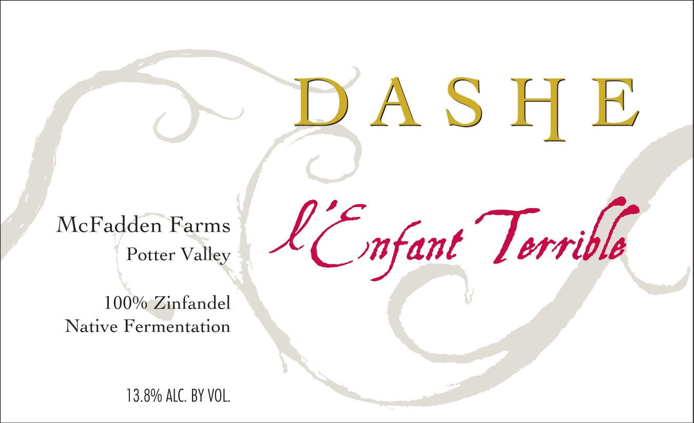 Dashe L'Enfant Terrible Zinfandel 2010  Front Label