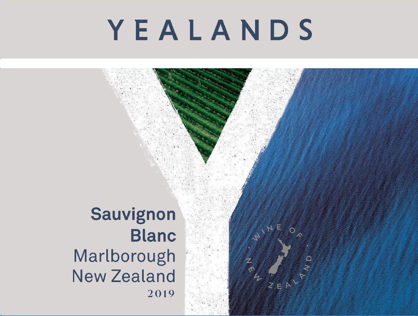 Yealands Sauvignon Blanc 2020  Front Label