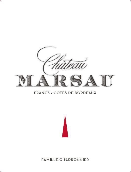 Chateau Marsau (375ML half-bottle) 2016  Front Label