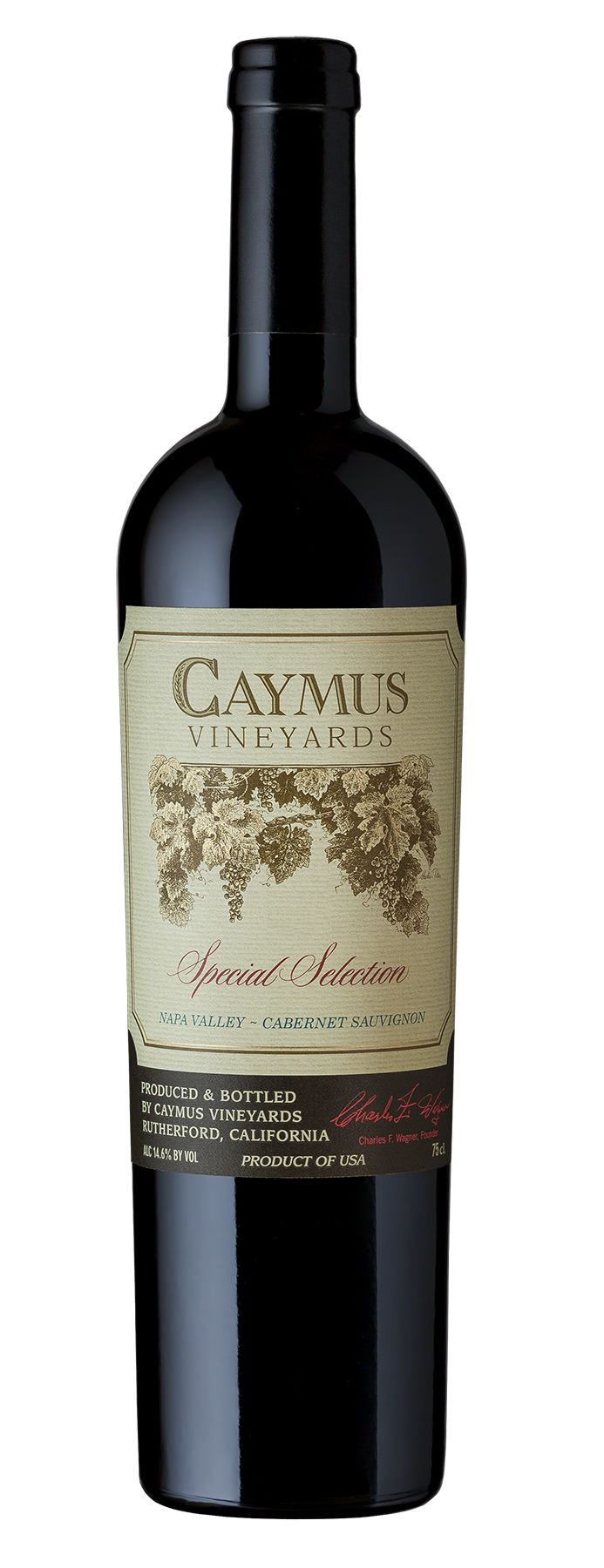 Caymus Special Selection Cabernet Sauvignon 1999  Front Bottle Shot