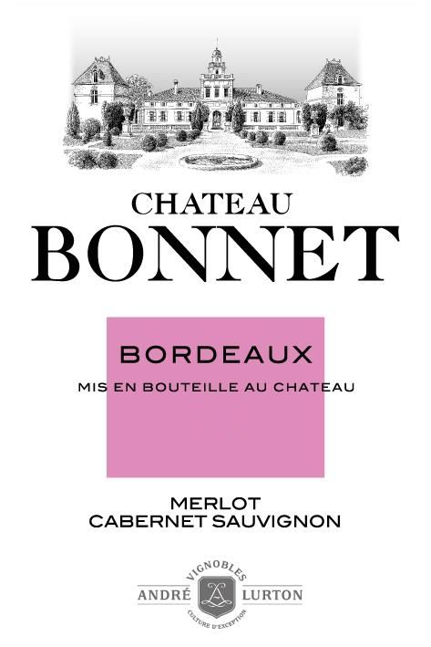 Chateau Bonnet Rouge 2017 Front Label