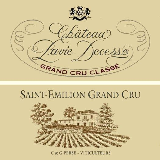 Chateau Pavie Decesse (Futures Pre-Sale) 2018  Front Label