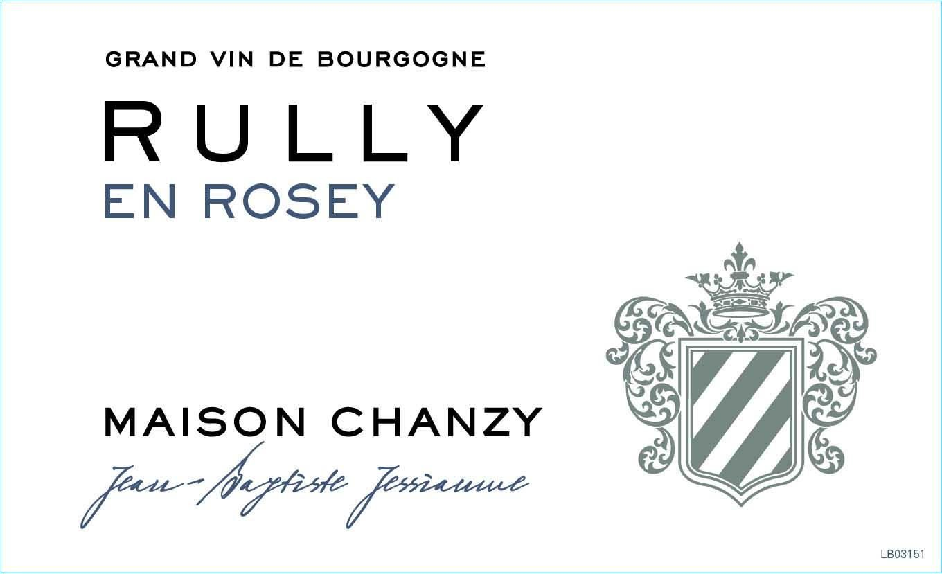 Maison Chanzy Rully En Rosey Rouge 2017 Front Label