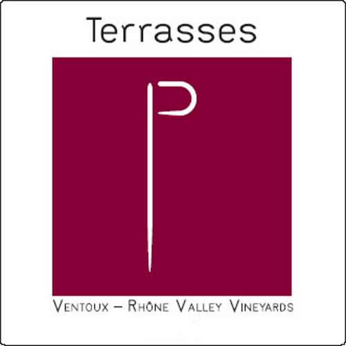 Chateau Pesquie Terrasses Rouge 2017  Front Label