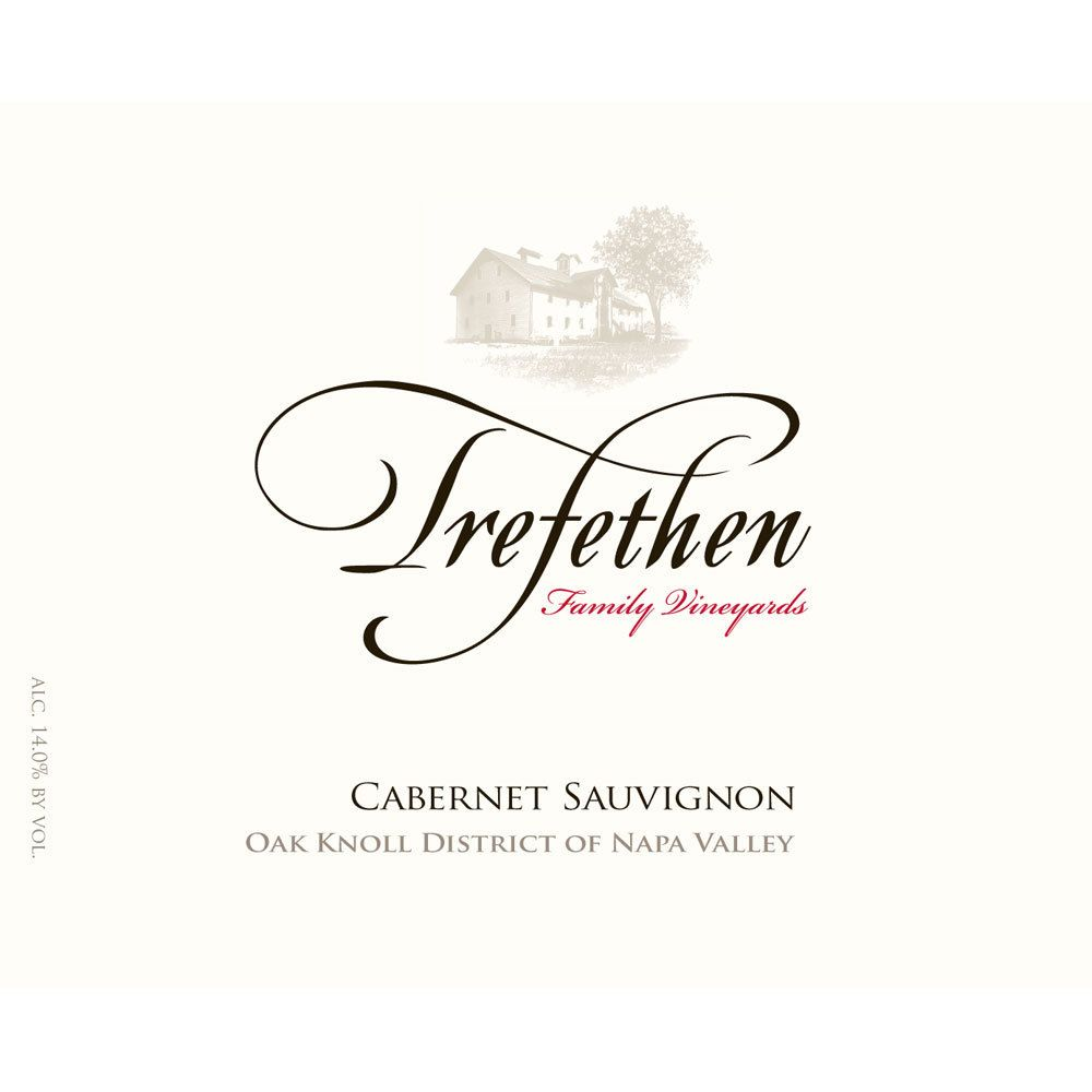 Trefethen Cabernet Sauvignon Estate (375ML half-bottle) 2016  Front Label
