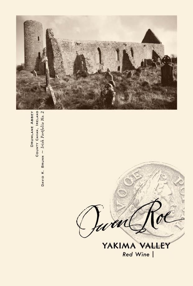 Owen Roe Yakima Red Blend 2017  Front Label