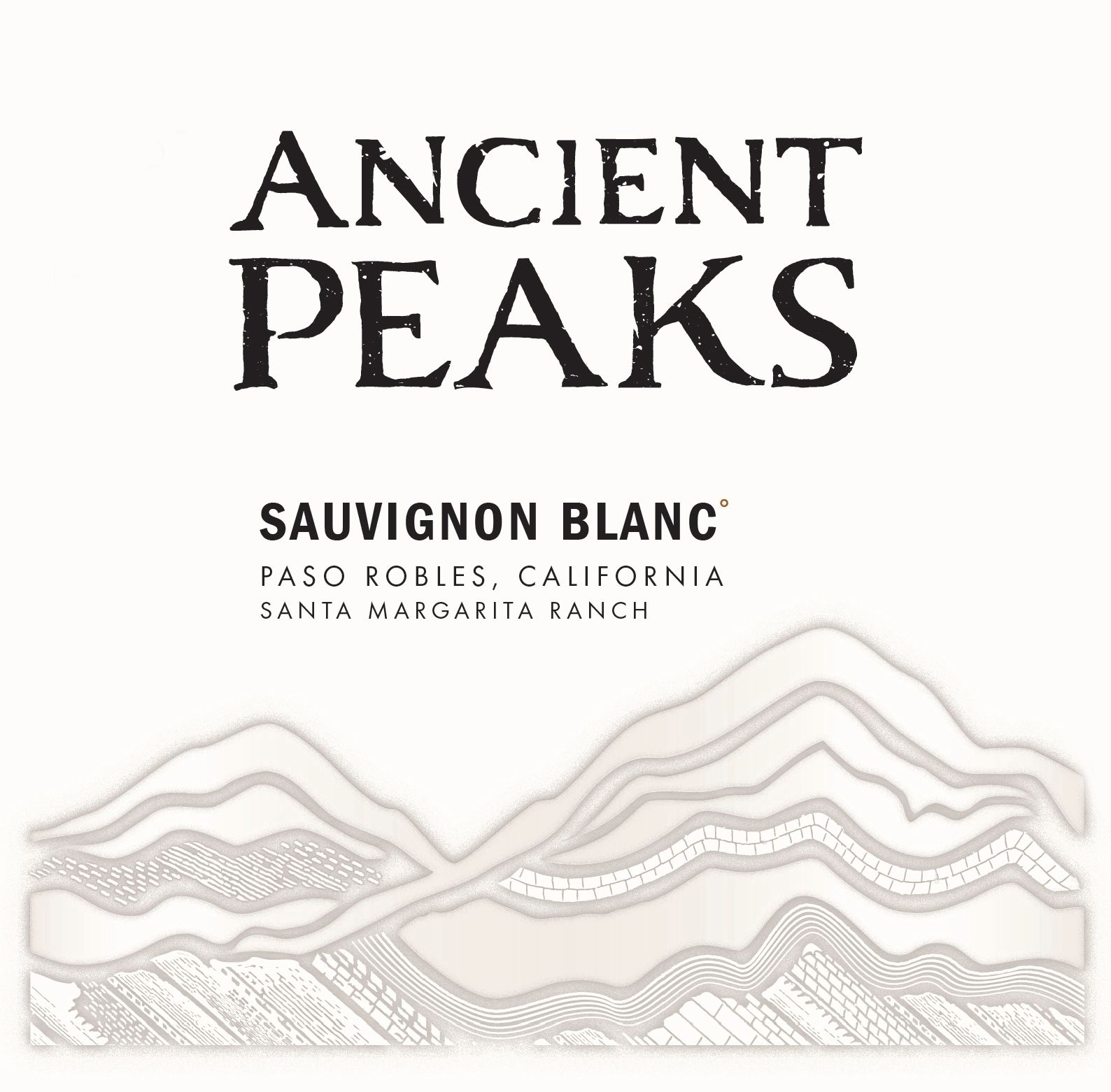 Ancient Peaks Paso Robles Sauvignon Blanc 2018  Front Label