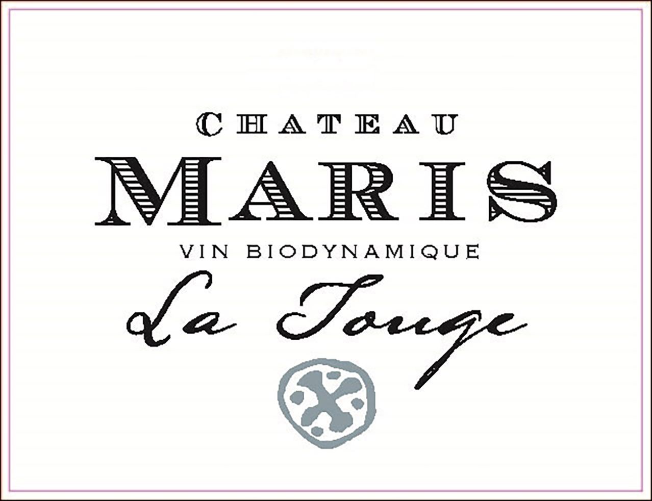 Chateau Maris La Touge 2017 Front Label