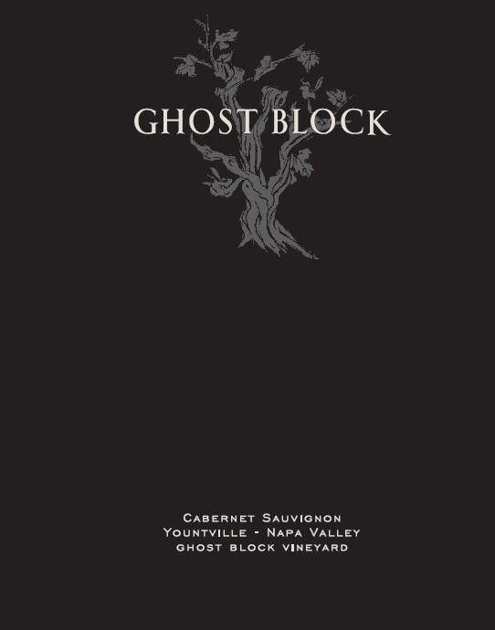 Ghost Block Single Vineyard Cabernet Sauvignon 2017  Front Label