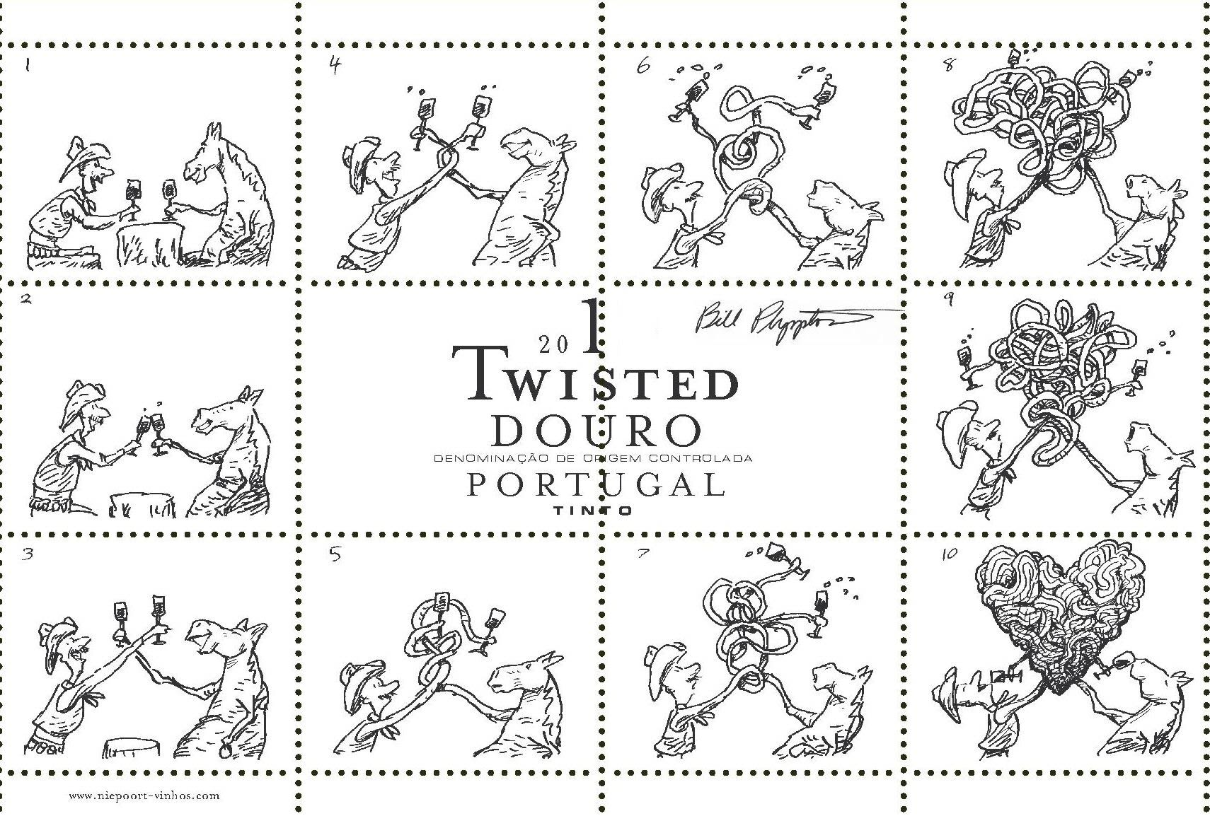 Niepoort Twisted Tinto 2018  Front Label