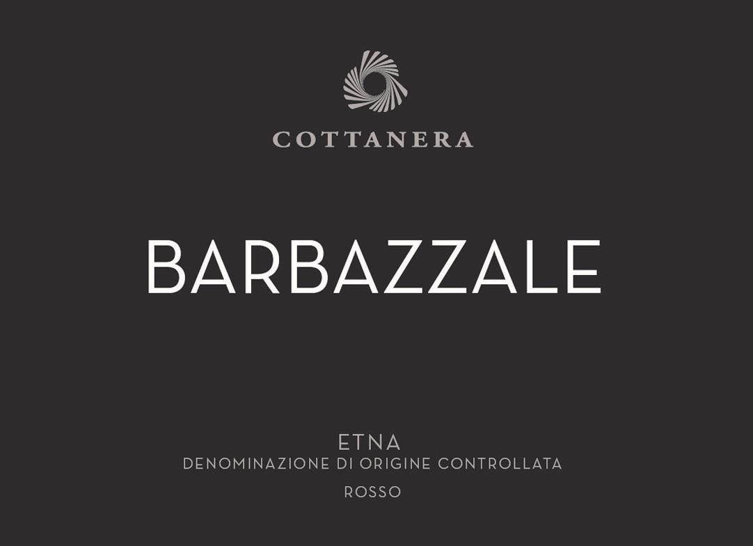 Cottanera Etna Barbazzale Rosso 2018  Front Label