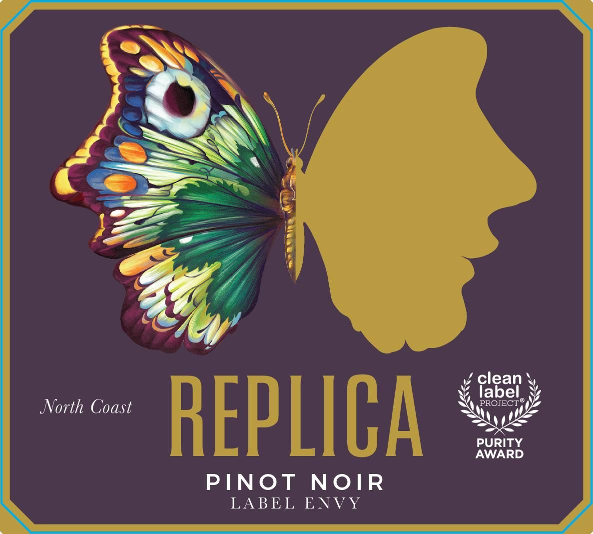 Replica Label Envy Pinot Noir 2018  Front Label