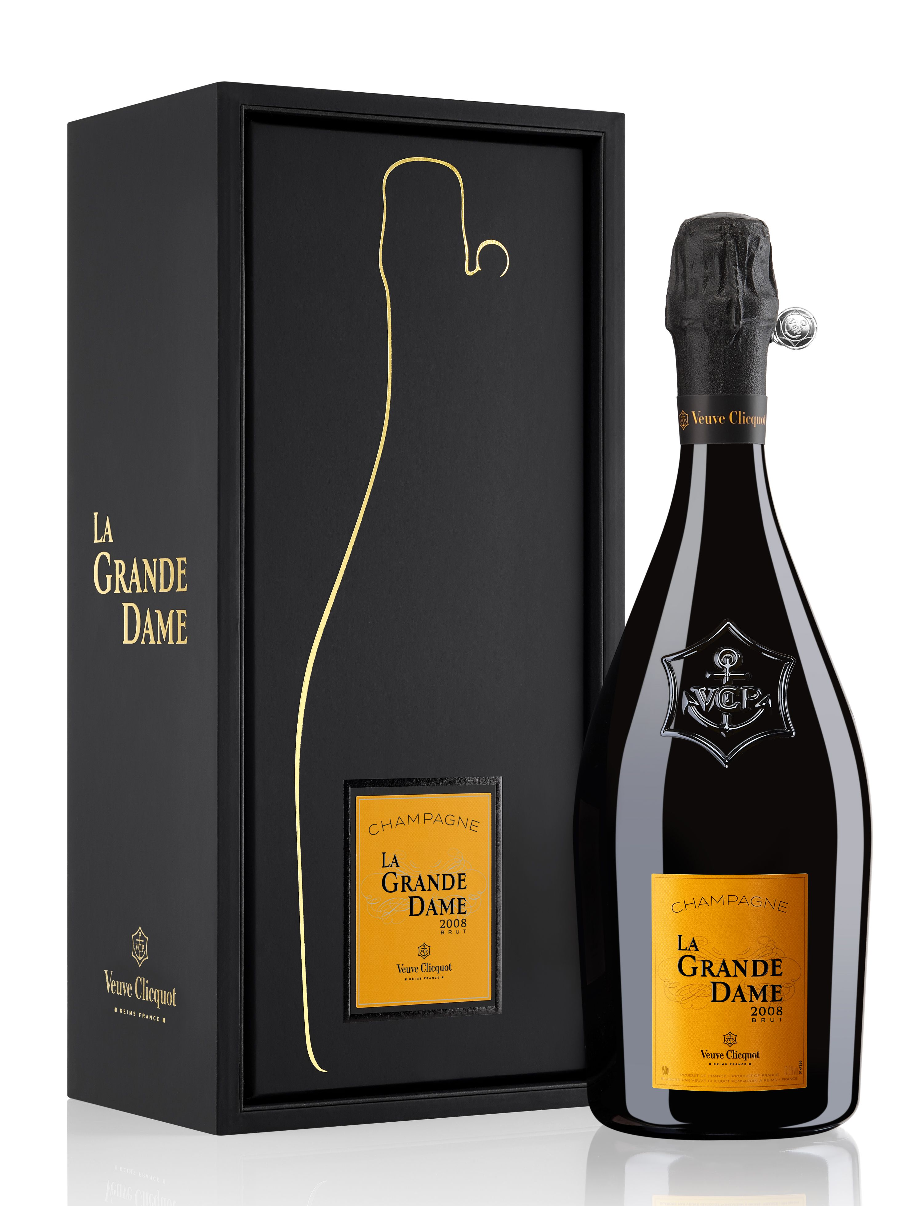 Veuve Clicquot La Grande Dame with Gift Box 2008 Gift Product Image