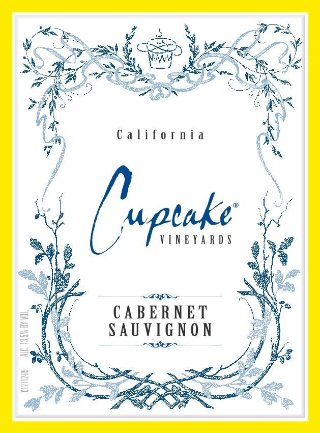 Cupcake Vineyards Cabernet Sauvignon 2017 Front Label