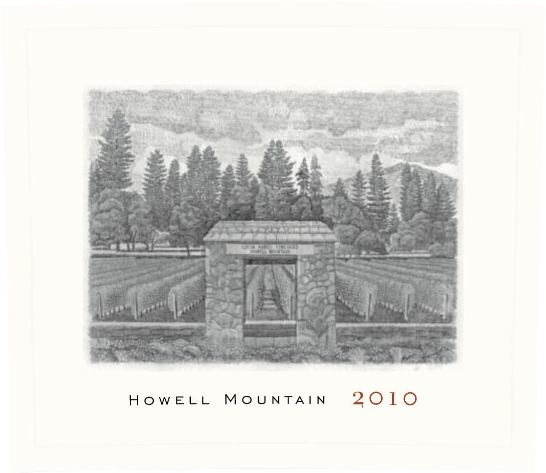 Abreu Vineyards Howell Mountain 2010  Front Label