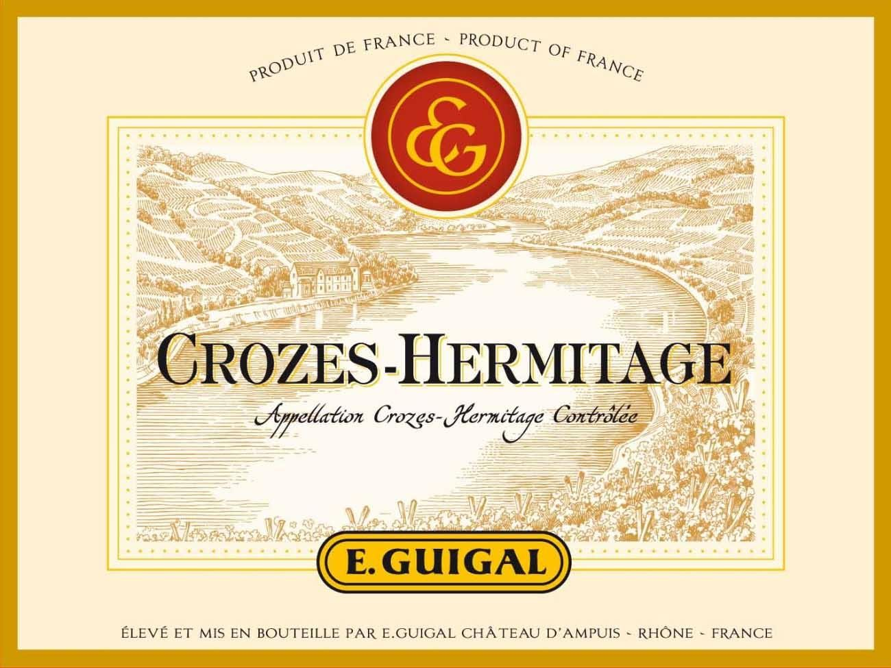 Guigal Crozes Hermitage 2017 Front Label