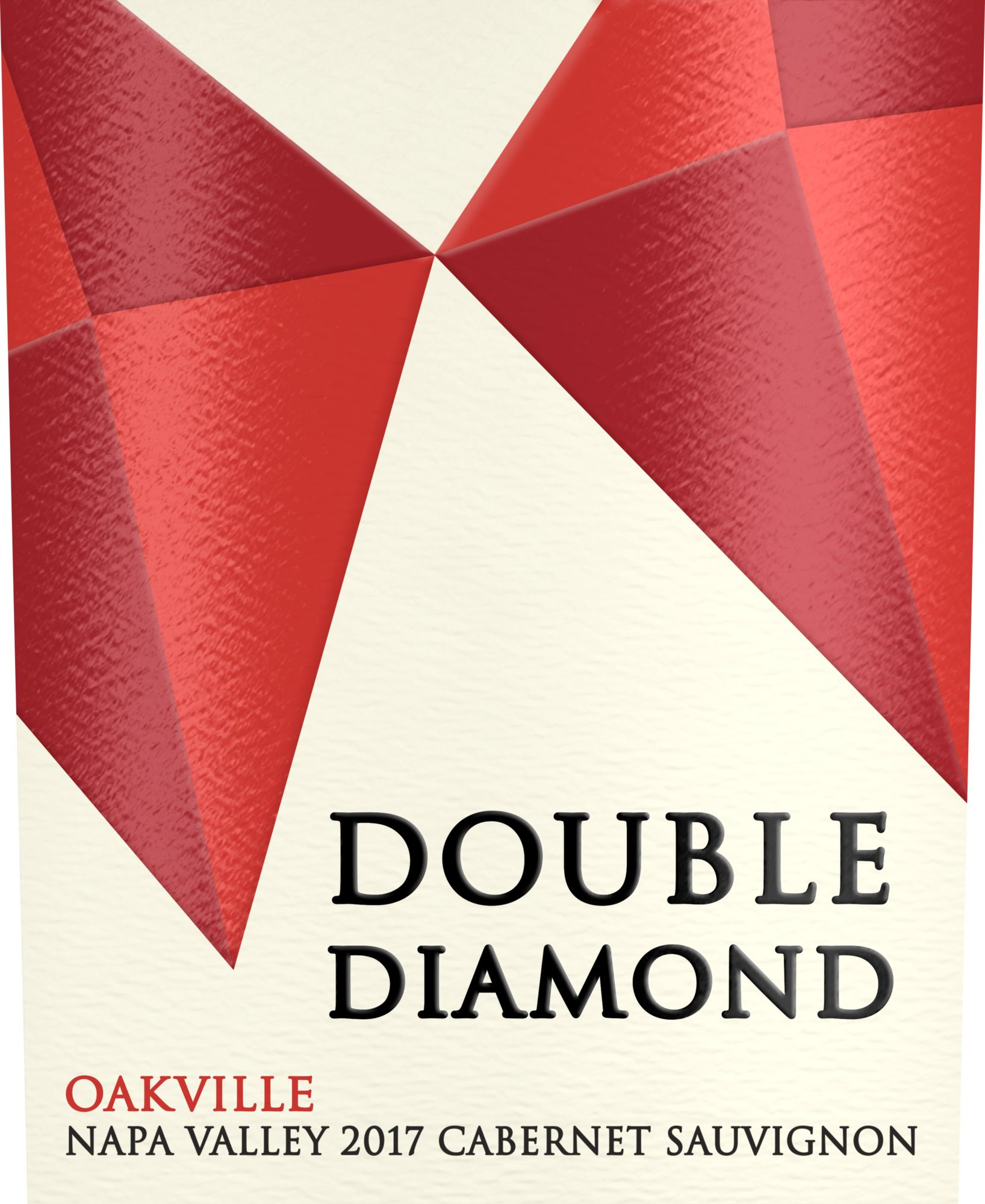 Double Diamond by Schrader Oakville Cabernet Sauvignon 2017  Front Label