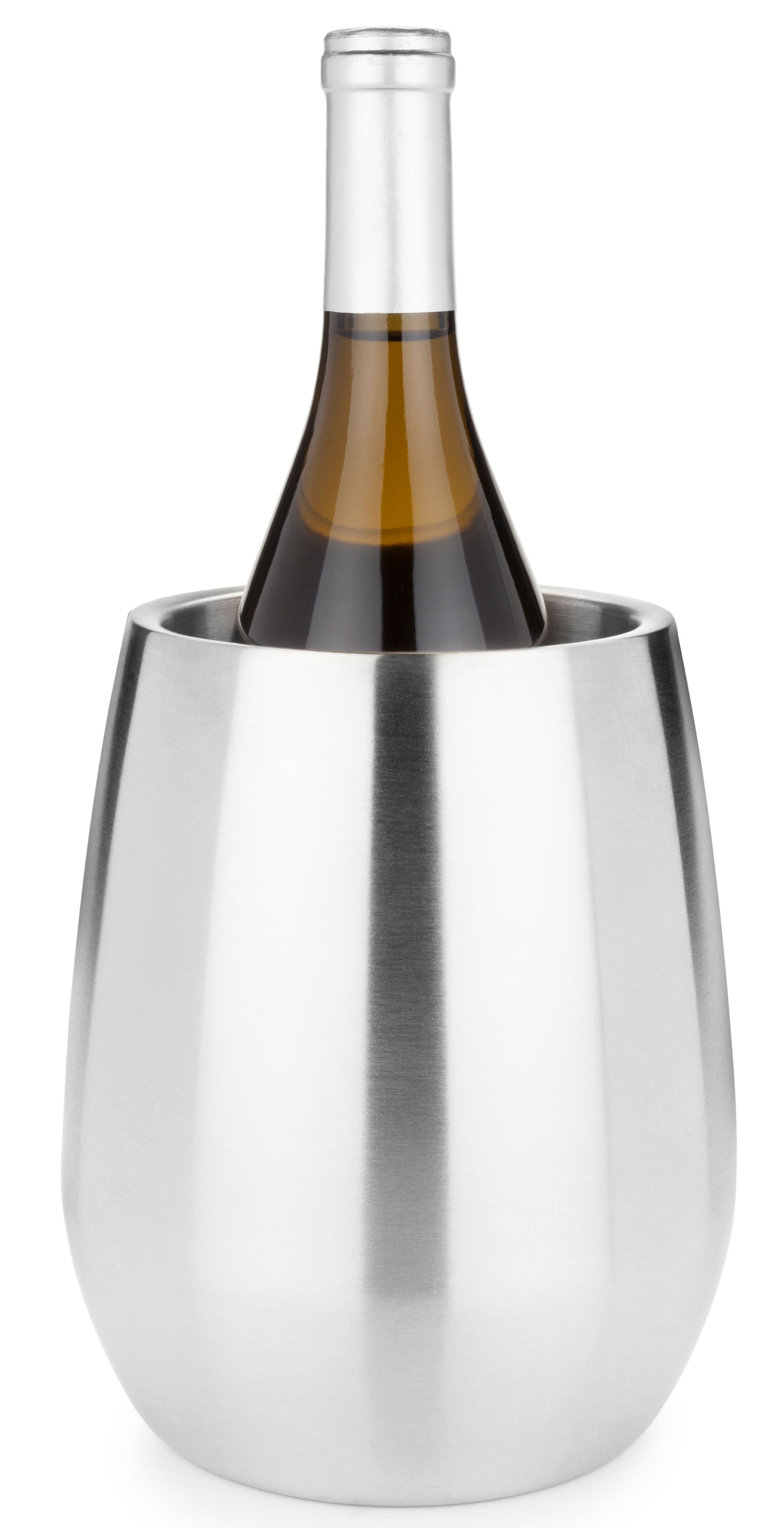 wine.com Stainless Steel Bottle Chiller  Gift Product Image