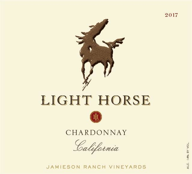 Jamieson Ranch Vineyards Light Horse Chardonnay 2017  Front Label