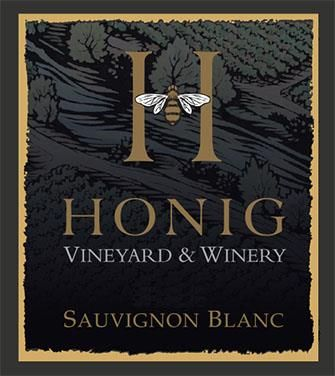 Honig Sauvignon Blanc (375ML half-bottle) 2018  Front Label